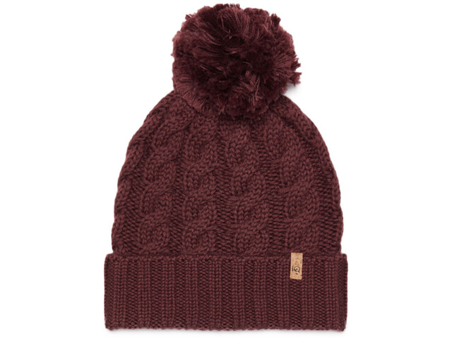 tentree Atlin Bonnet Pom, red mahogany